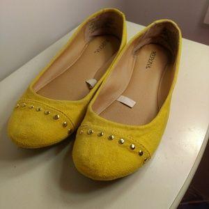 Yellow Merona Flats